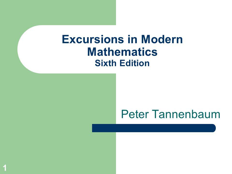 1 Excursions in Modern Mathematics Sixth Edition Peter Tannenbaum
