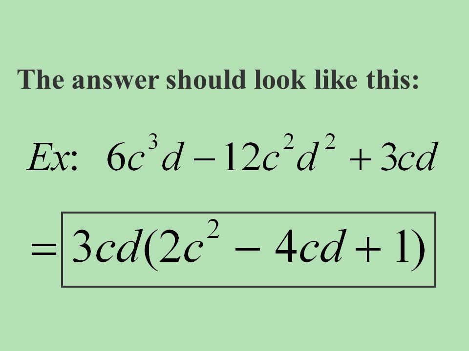 Example #2: x 2 +5x+4