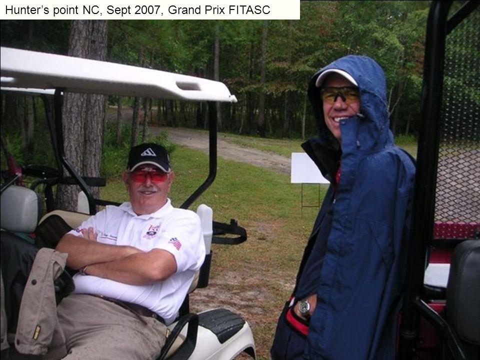 Hunter's point NC, Sept 2007, Grand Prix FITASC