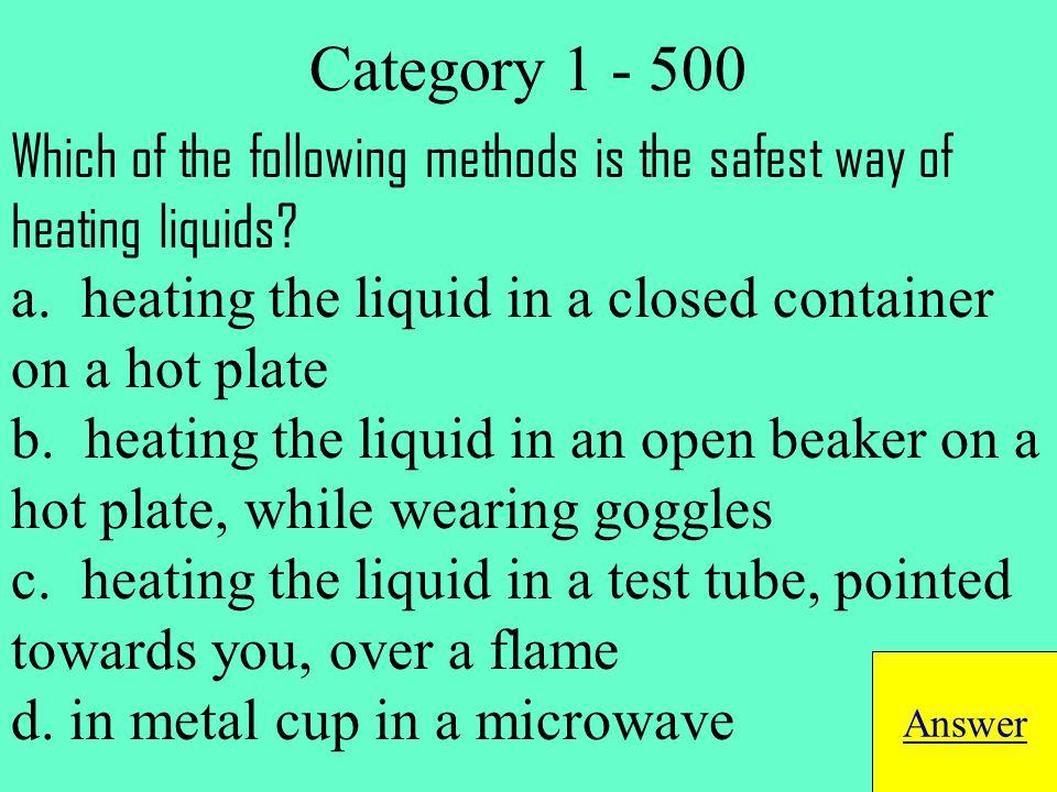 solute Return to Jeopardy Board Category 4 - 100