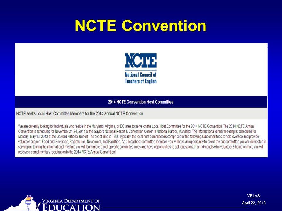 VELAS April 22, 2013 SOL Assessment Notes TEI Section Review Screen FAQ: Q.