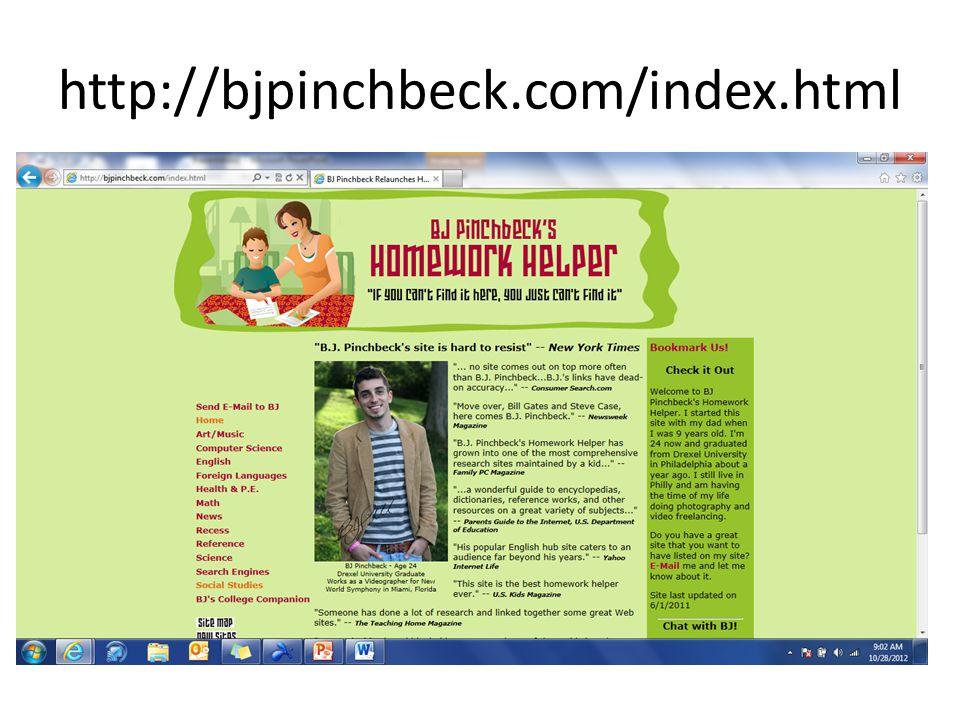 http://bjpinchbeck.com/index.html