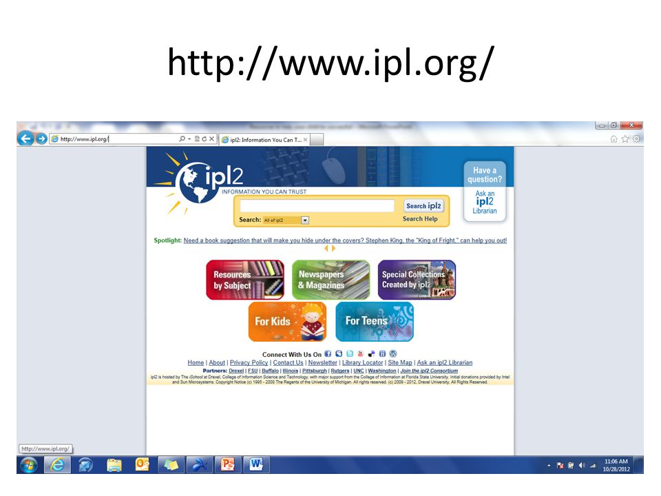 http://www.ipl.org/