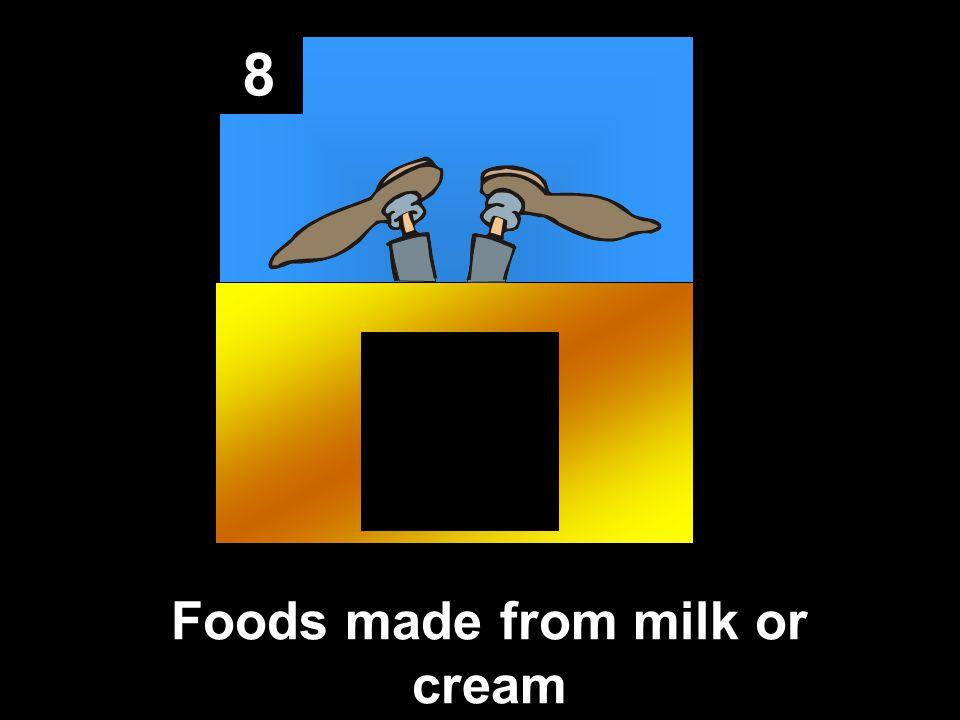 8 Foods made from milk or cream