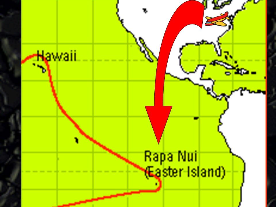 We will arrive at Easter Island by plane. Easter Island or Rapa Nui is a tiny speck of land in the South Pacific.