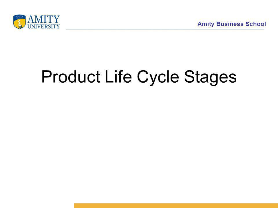 Amity Business School Product Life Cycle Stages