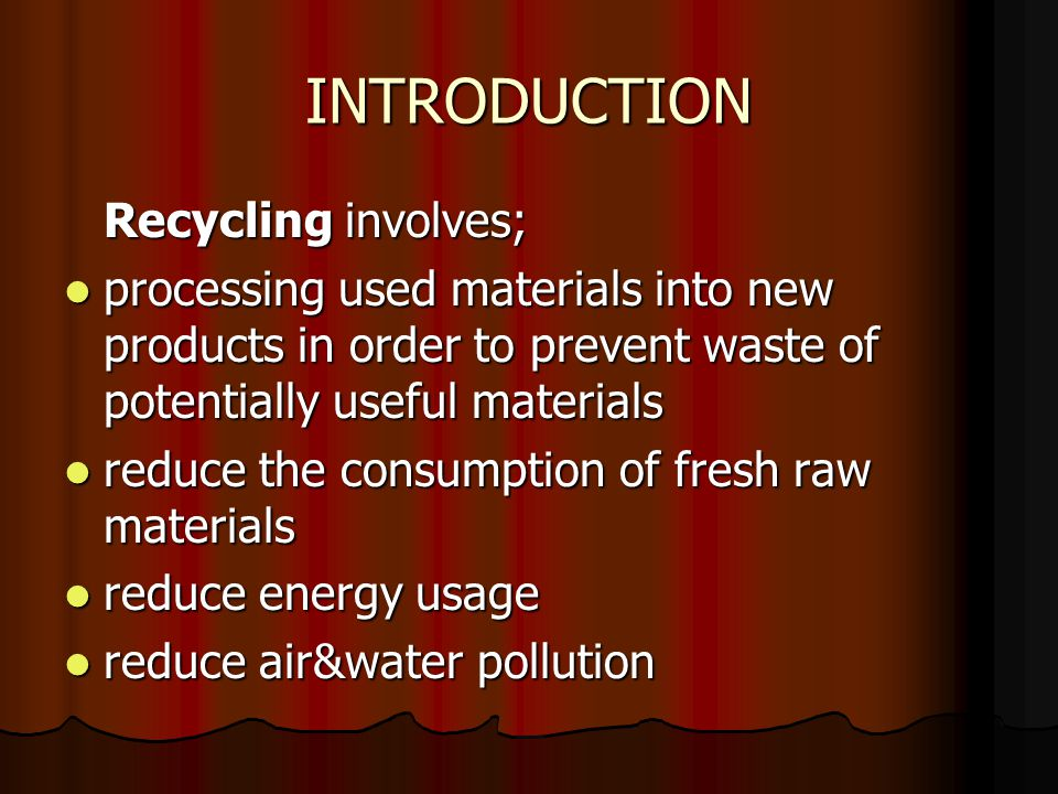 In 2005, 13 million tonnes of metal was recycled in the UK.