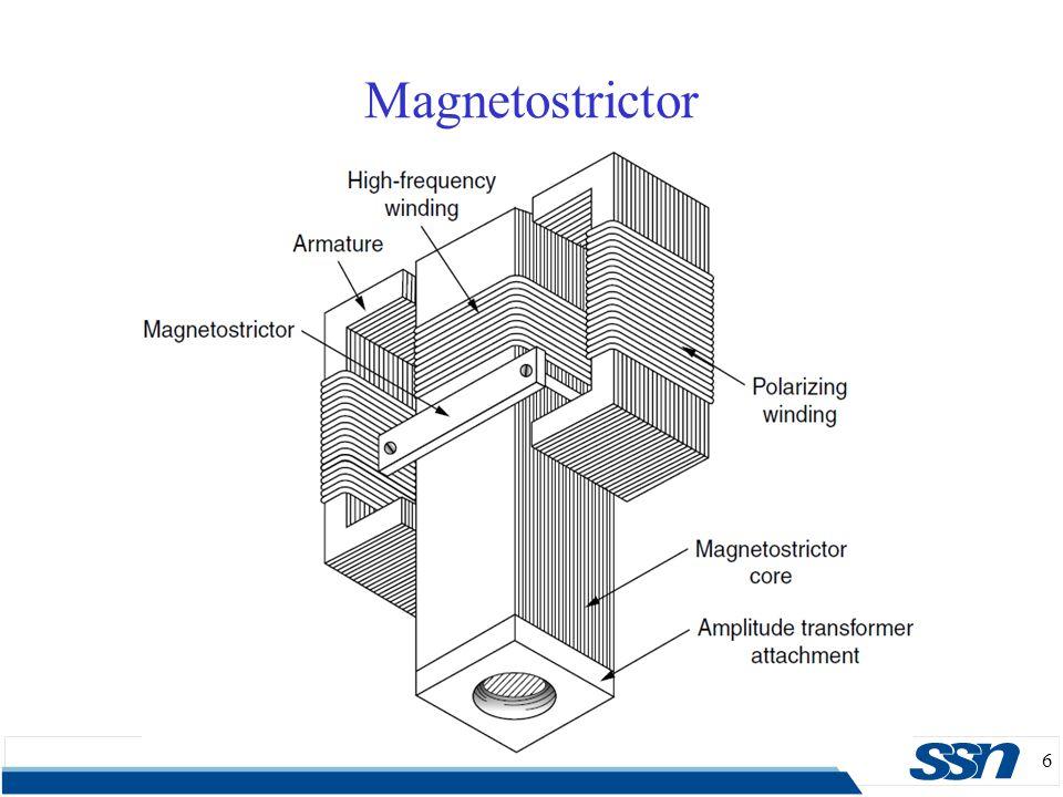 6 Magnetostrictor