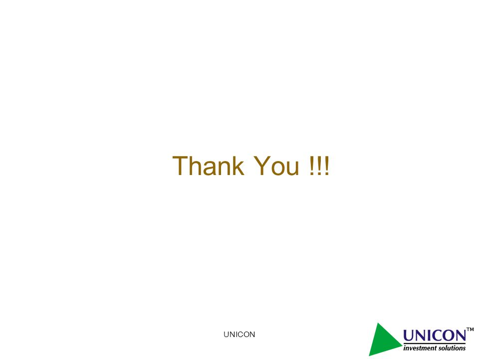 UNICON Thank You !!!