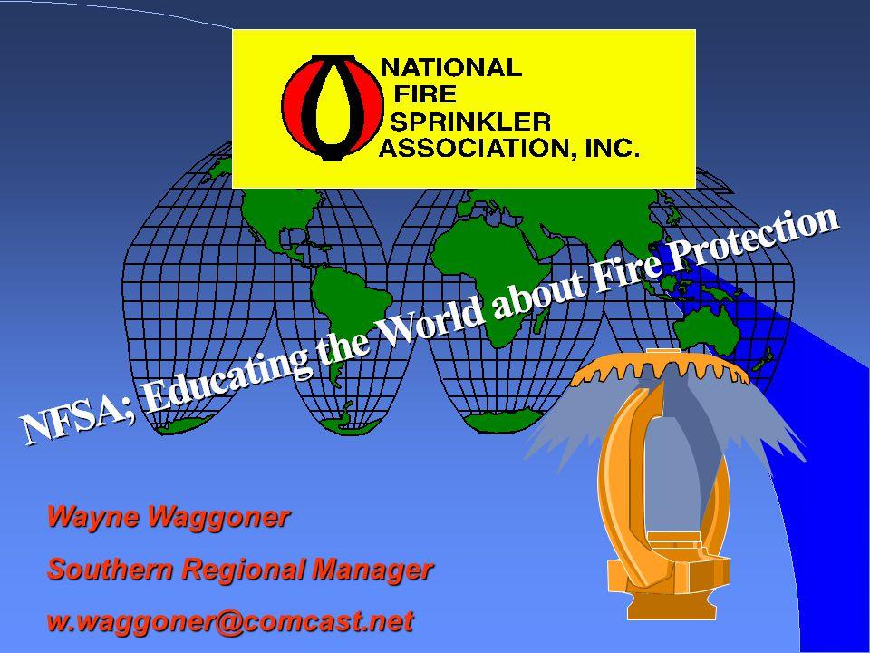 Wayne Waggoner Southern Regional Manager w.waggoner@comcast.net