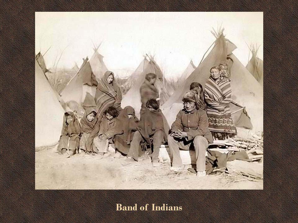 Indian Wearing a War Bonnet
