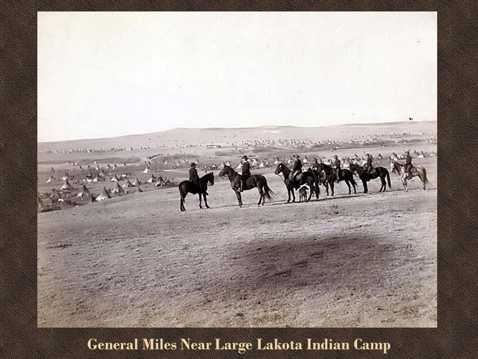 General Miles and Staff in the Dakota Territory