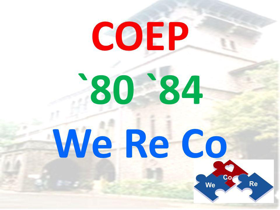 COEP Our Alma Mater since 1865