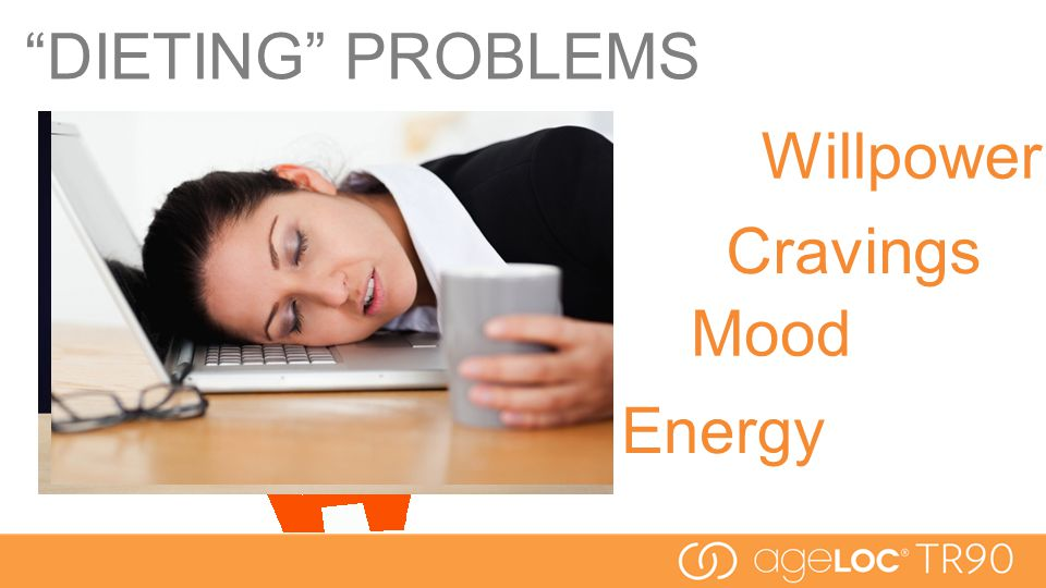 Cravings Mood Willpower Energy DIETING PROBLEMS