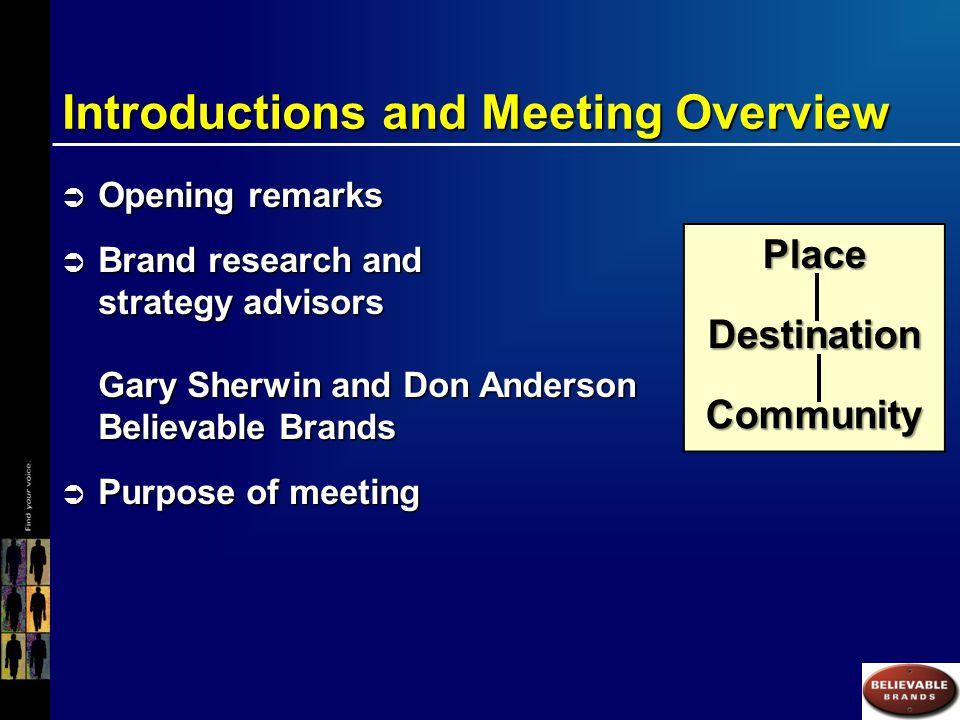 Formulation of the Casper Brand Promise
