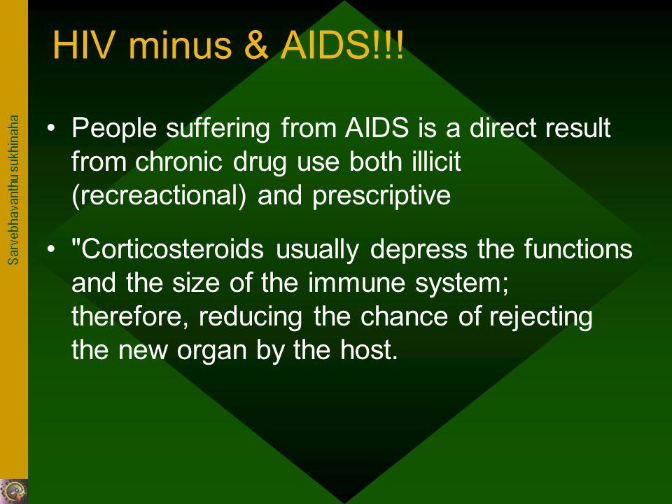 Sarvebhavanthu sukhinaha HIV minus & AIDS!!.