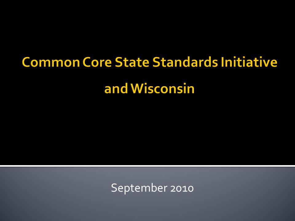 Home  Common Core State Standards Initiative