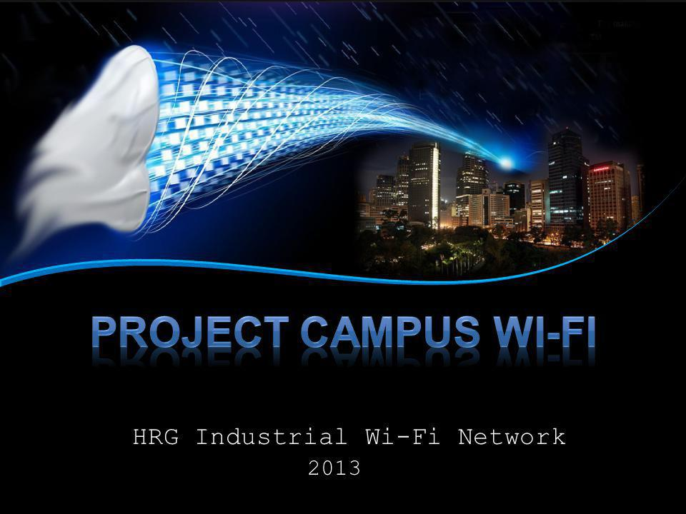 HRG Industrial Wi-Fi Network 2013