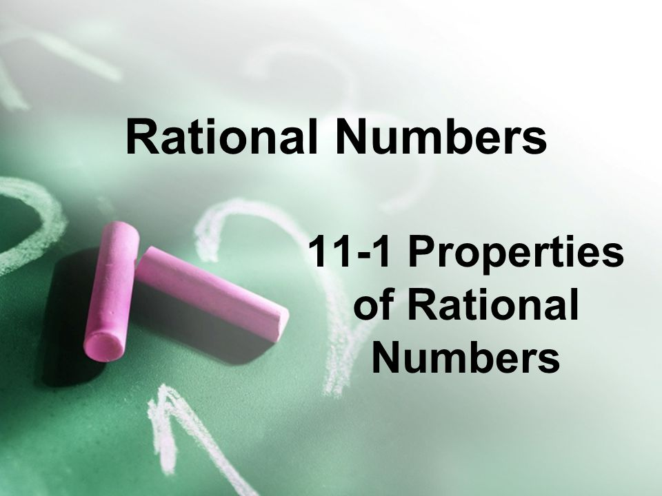 Rational Numbers 11-2 Decimal Forms of Rational Numbers