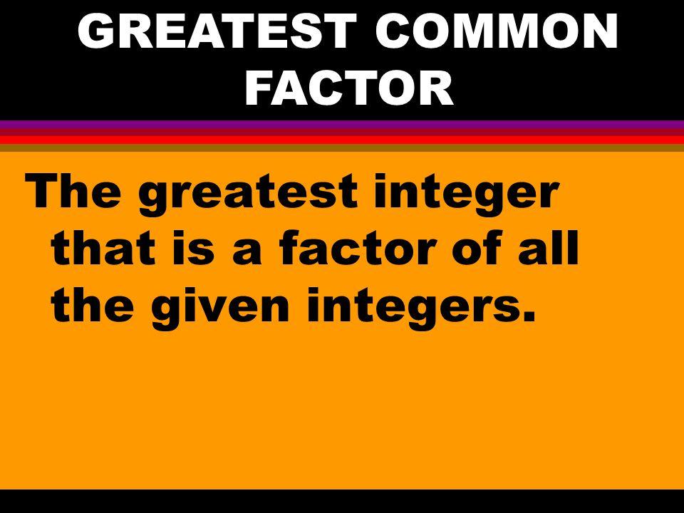 11-3 Divide and Find Factors