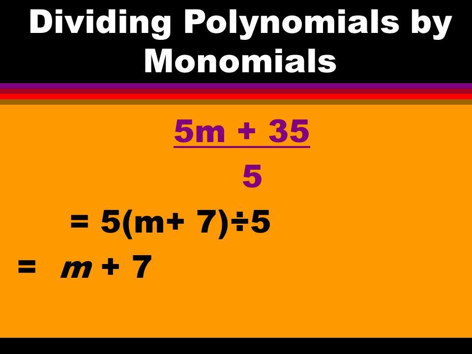 13e – 39ef = Factoring Polynomials