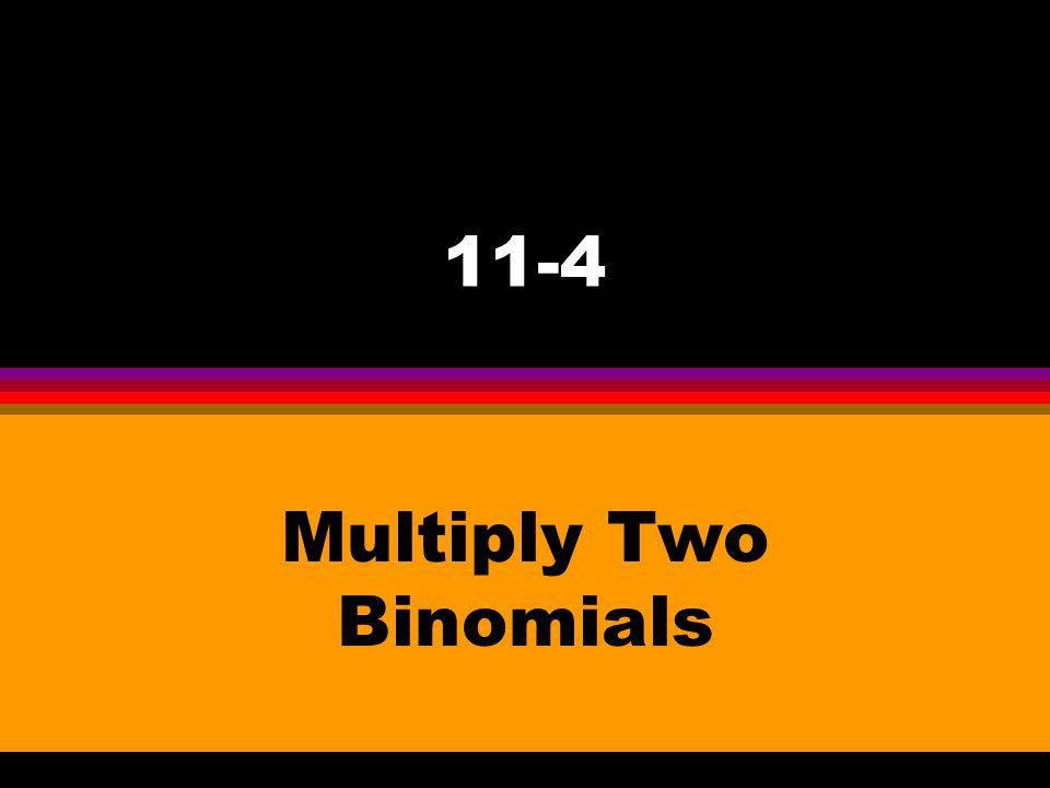 2x + 6x 2 2x Dividing Polynomials by Monomials