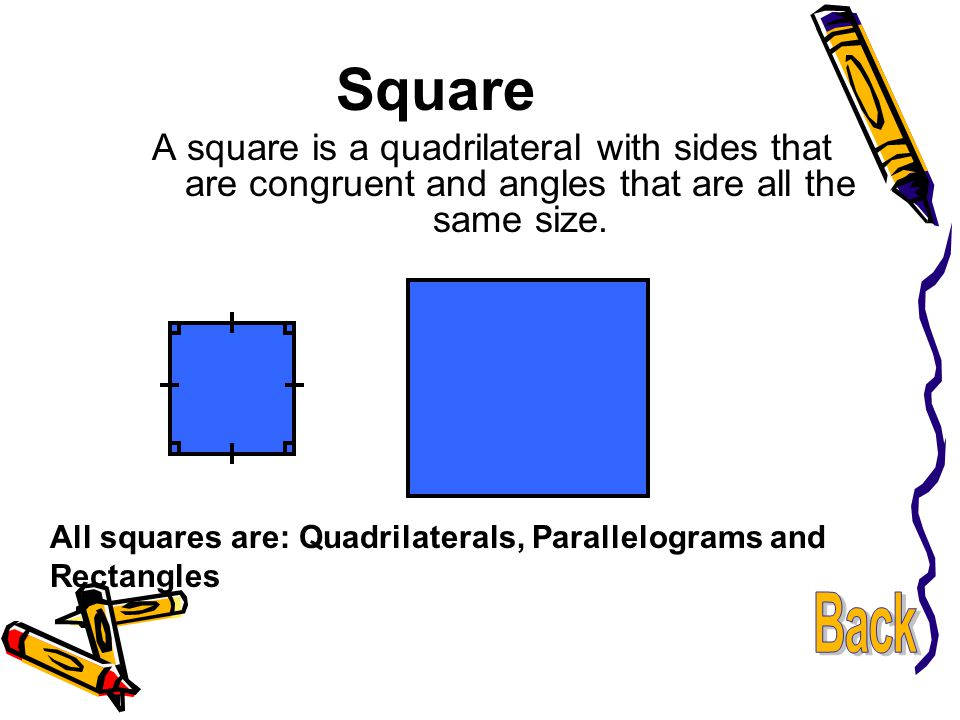 Quadrilateral Flow Chart A square is a quadrilateral