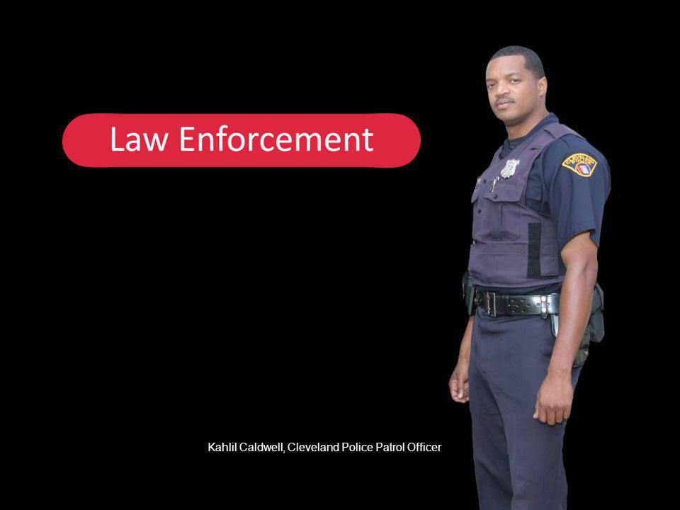 Kahlil Caldwell, Cleveland Police Patrol Officer