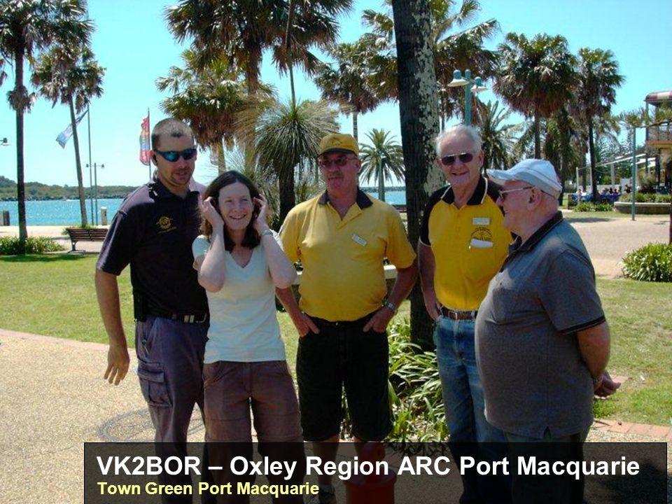 VK2BOR – Oxley Region ARC Port Macquarie Town Green Port Macquarie