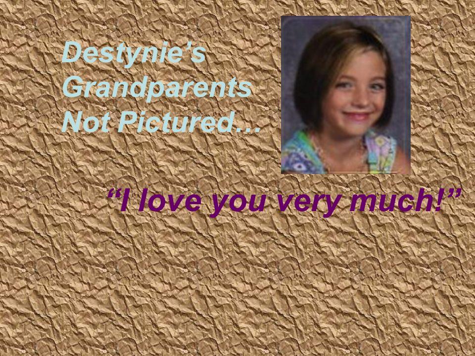 Micah with her Grandma Wanda You make me smile, Grandma!!