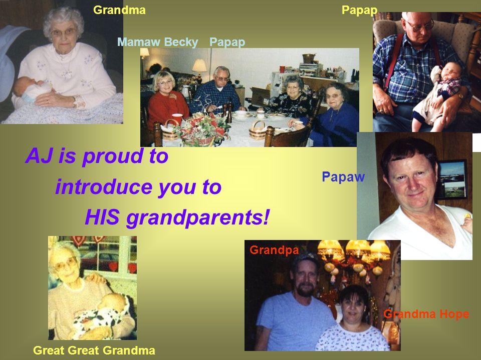 Lauren's grandparents I want everyone to know that I love my grandparents very much! ~Lauren Grandpa Smyers Grandma Smyers