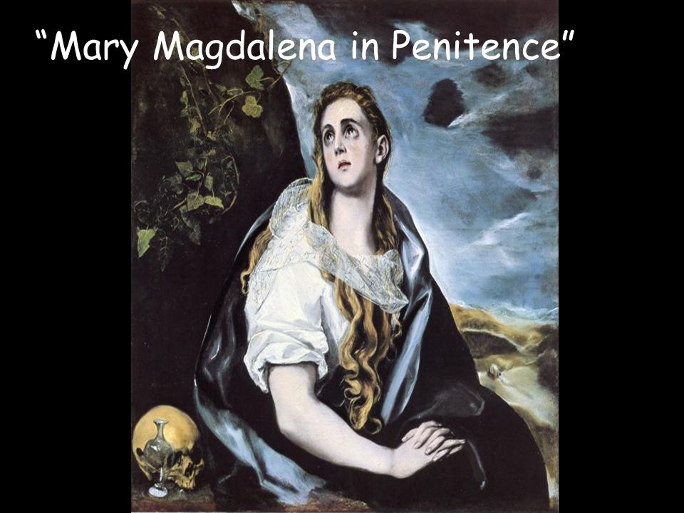 Mary Magdalena in Penitence