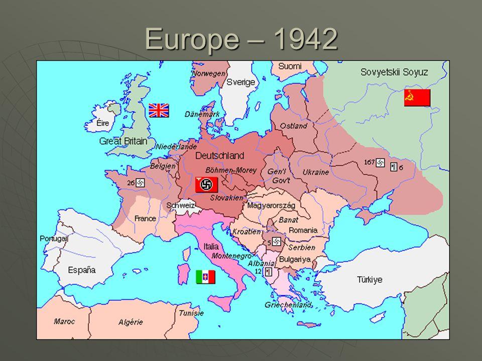 Europe – 1942