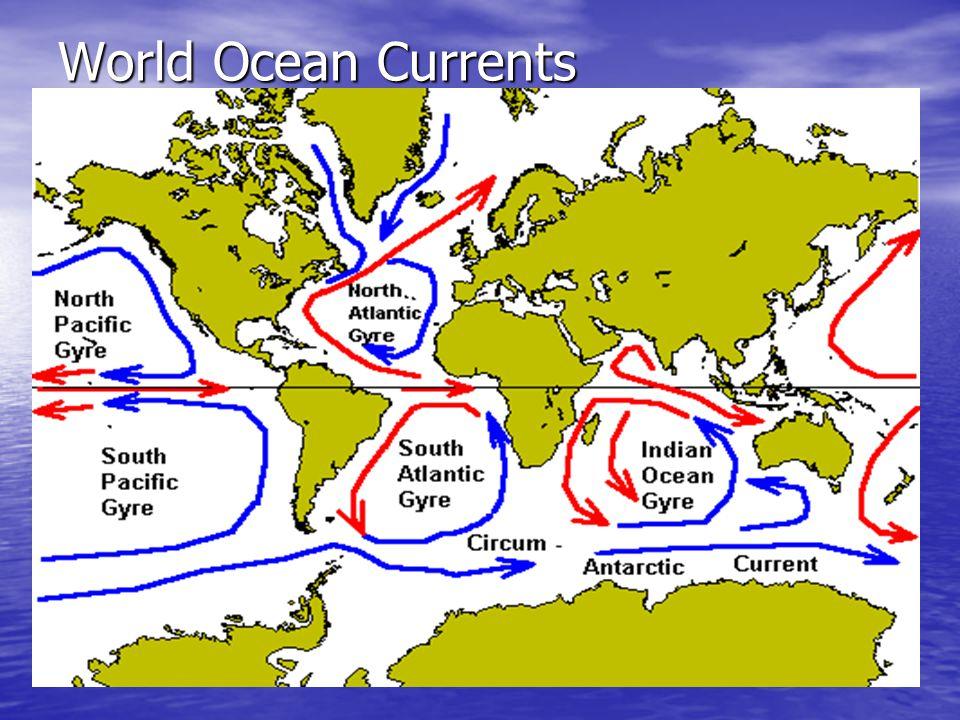 World Ocean Currents