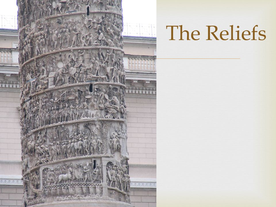  The Reliefs
