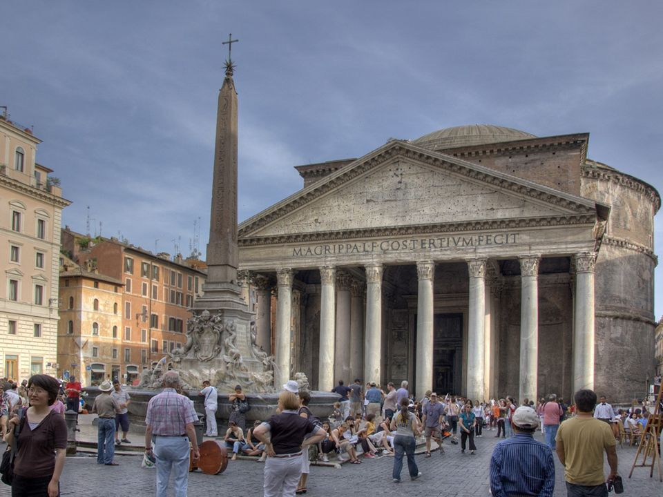  The word Pantheon literally means ______.