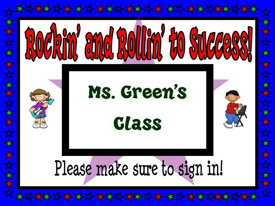 Ms. Green's Class