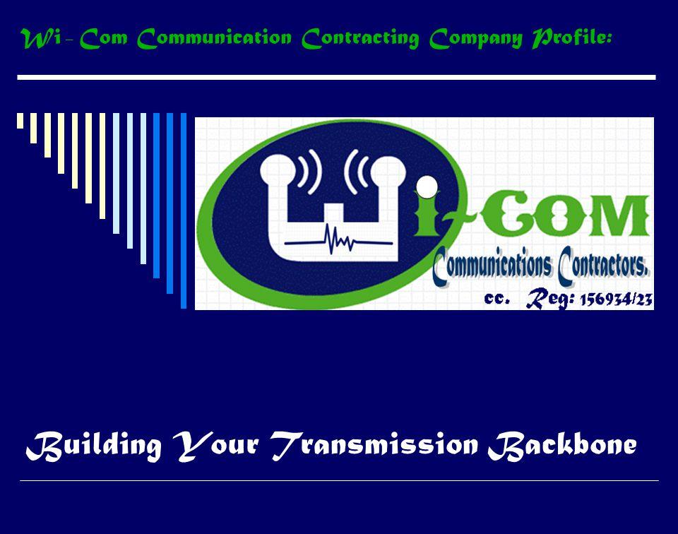 Building Your Transmission Backbone cc.