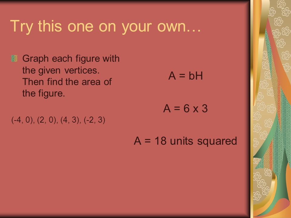 Example 1: Finding the Volume of a Sphere Find the volume of a sphere with a radius of 6 ft, both in terms of pi and to the nearest tenth.