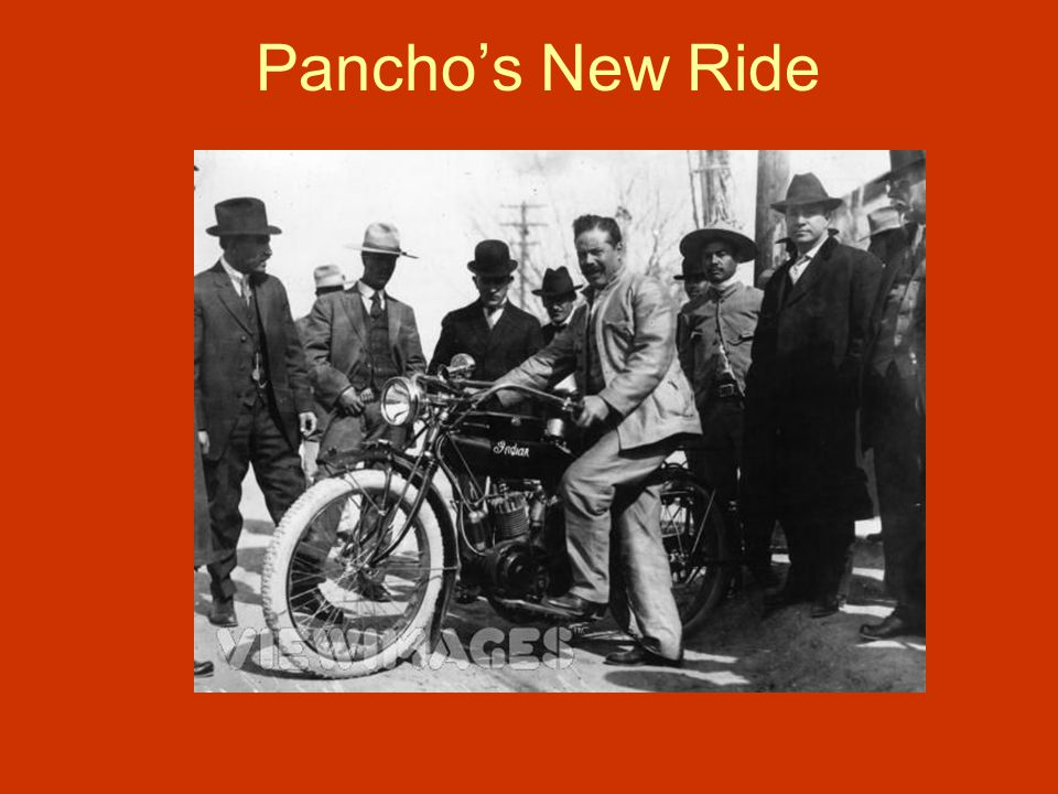 Pancho's New Ride