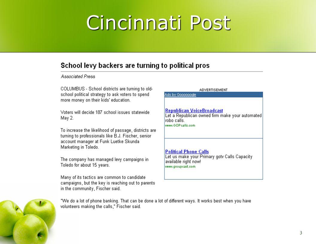 3 Cincinnati Post