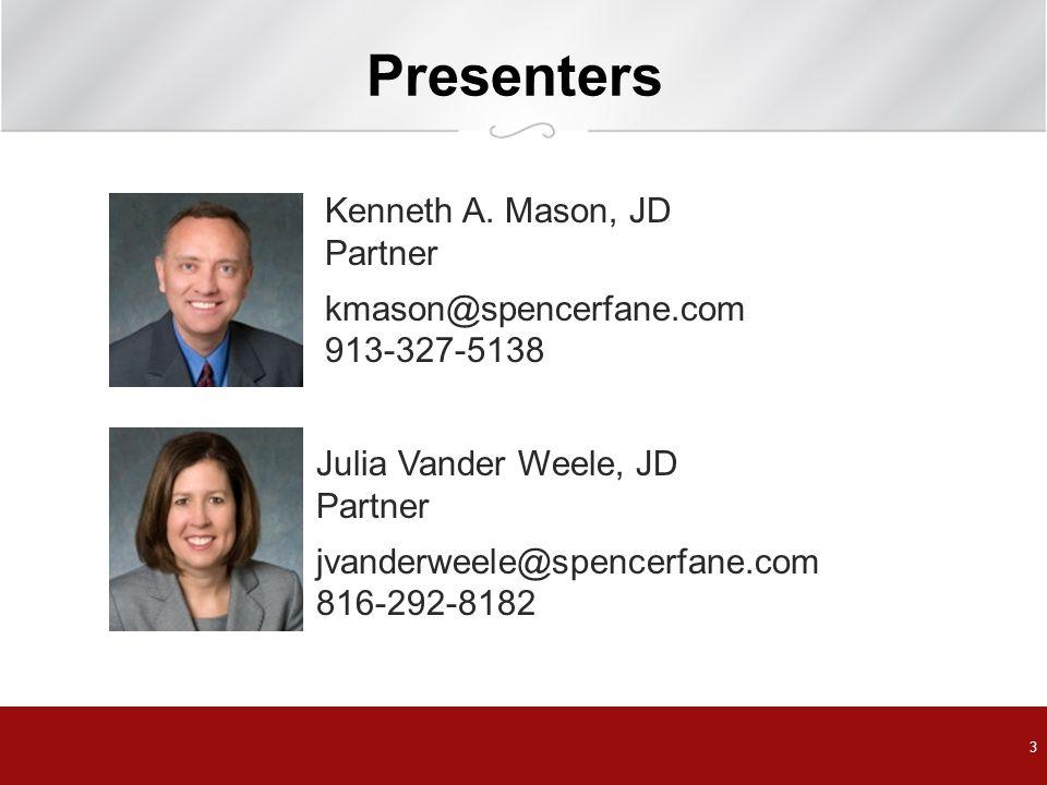 Presenters 3 Kenneth A.