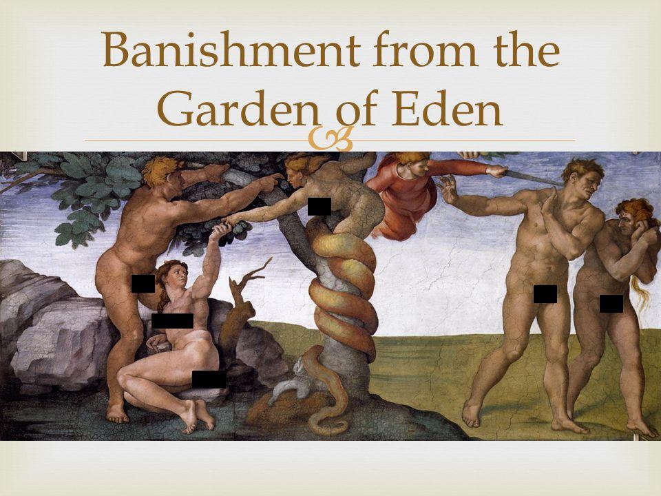  Banishment from the Garden of Eden