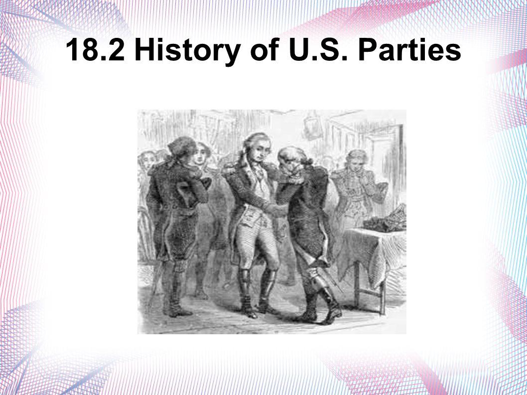 18.2 History of U.S. Parties