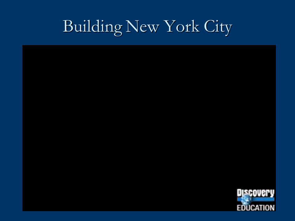Building New York City