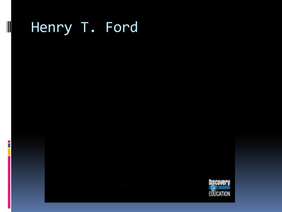 Henry T. Ford