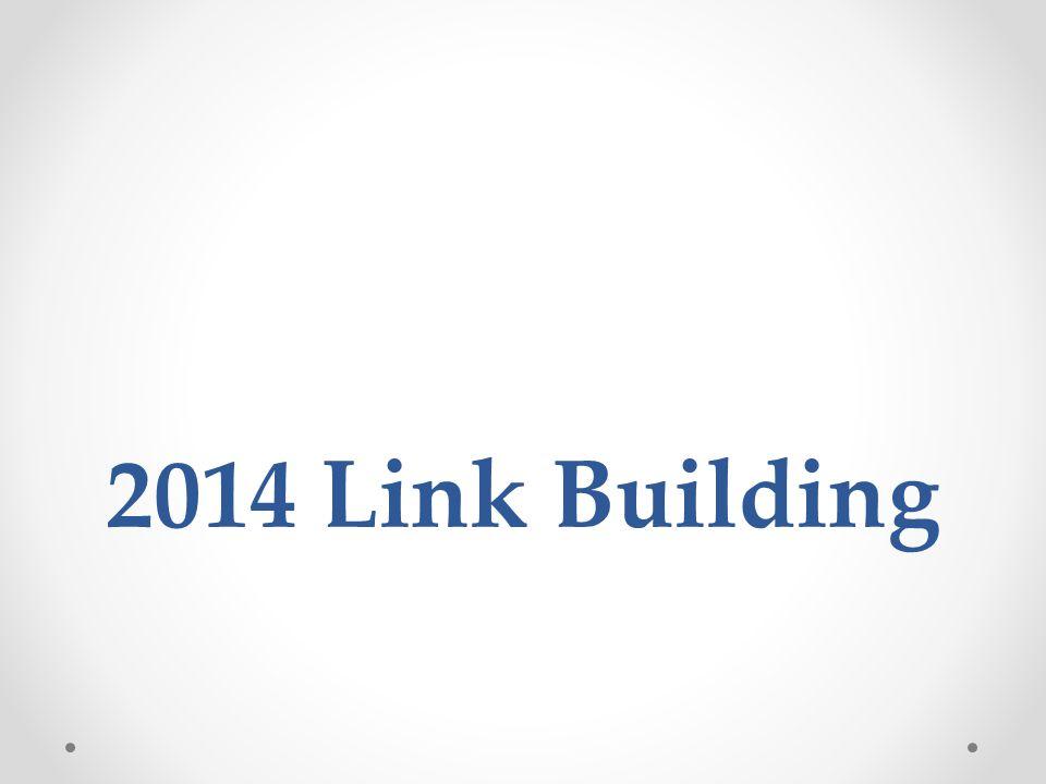 2014 Link Building