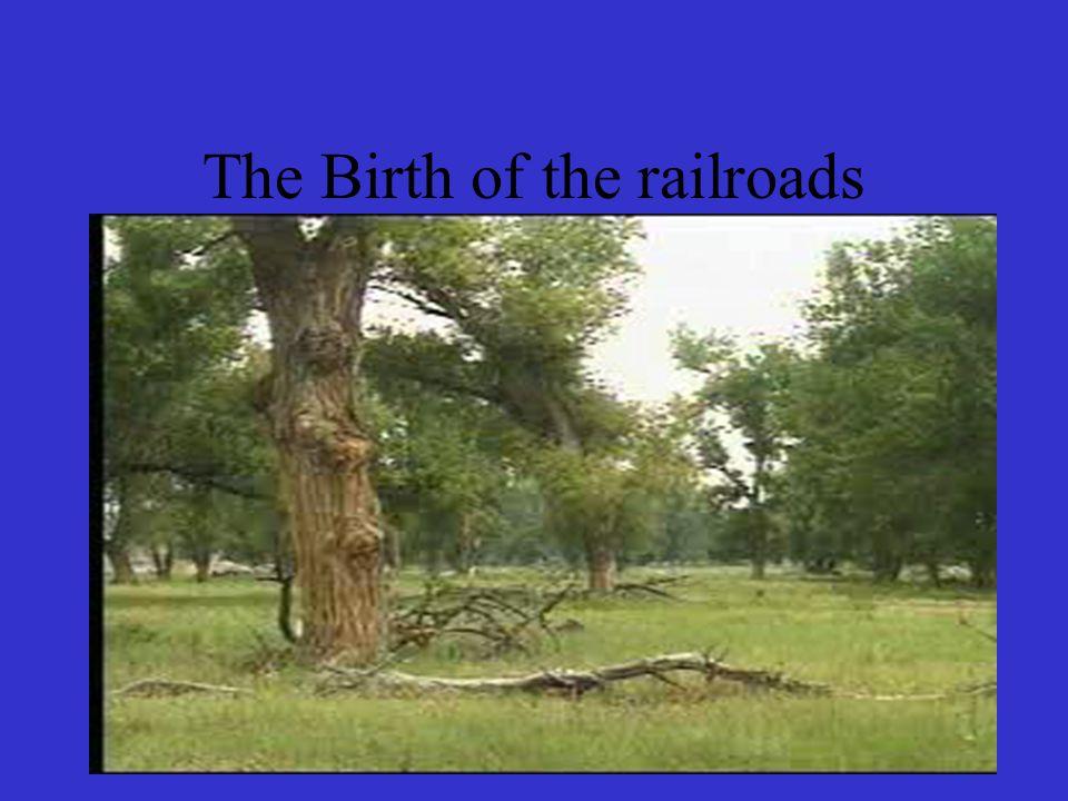 The Birth of the railroads 16