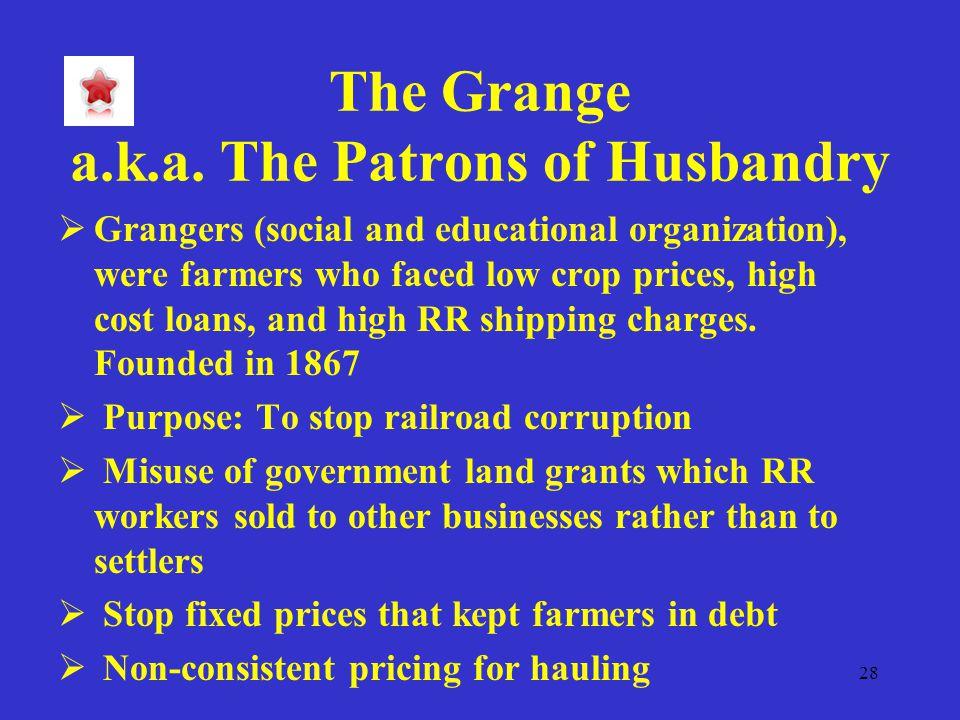 28 The Grange a.k.a.
