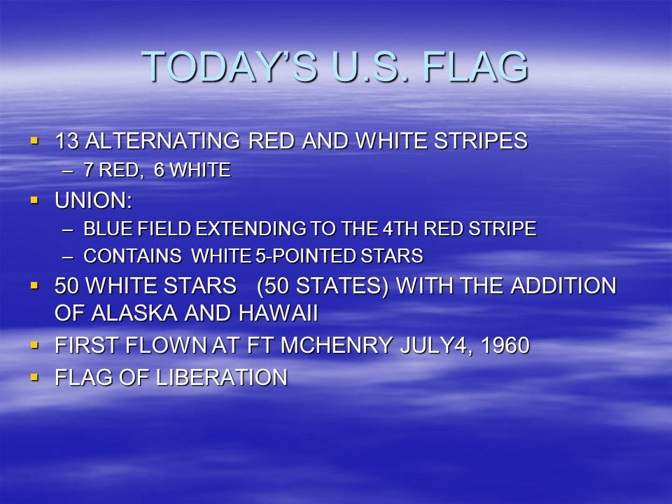 TODAY'S U.S.